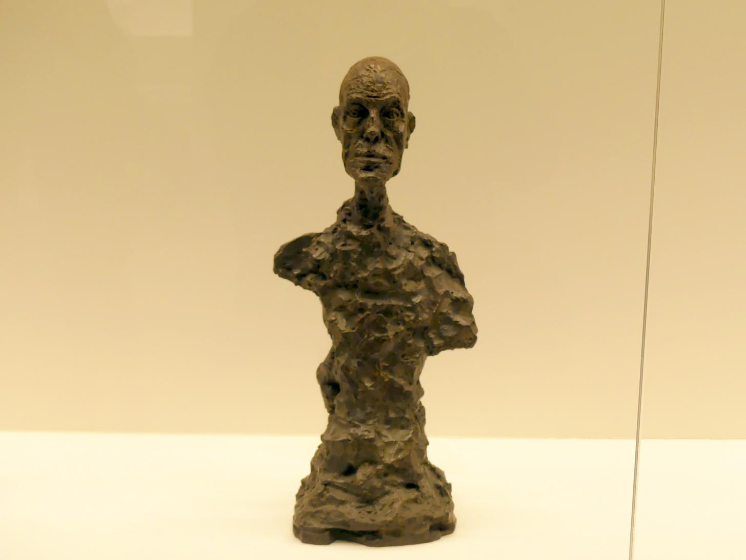Alberto Giacometti: Büste von Diego, 1964