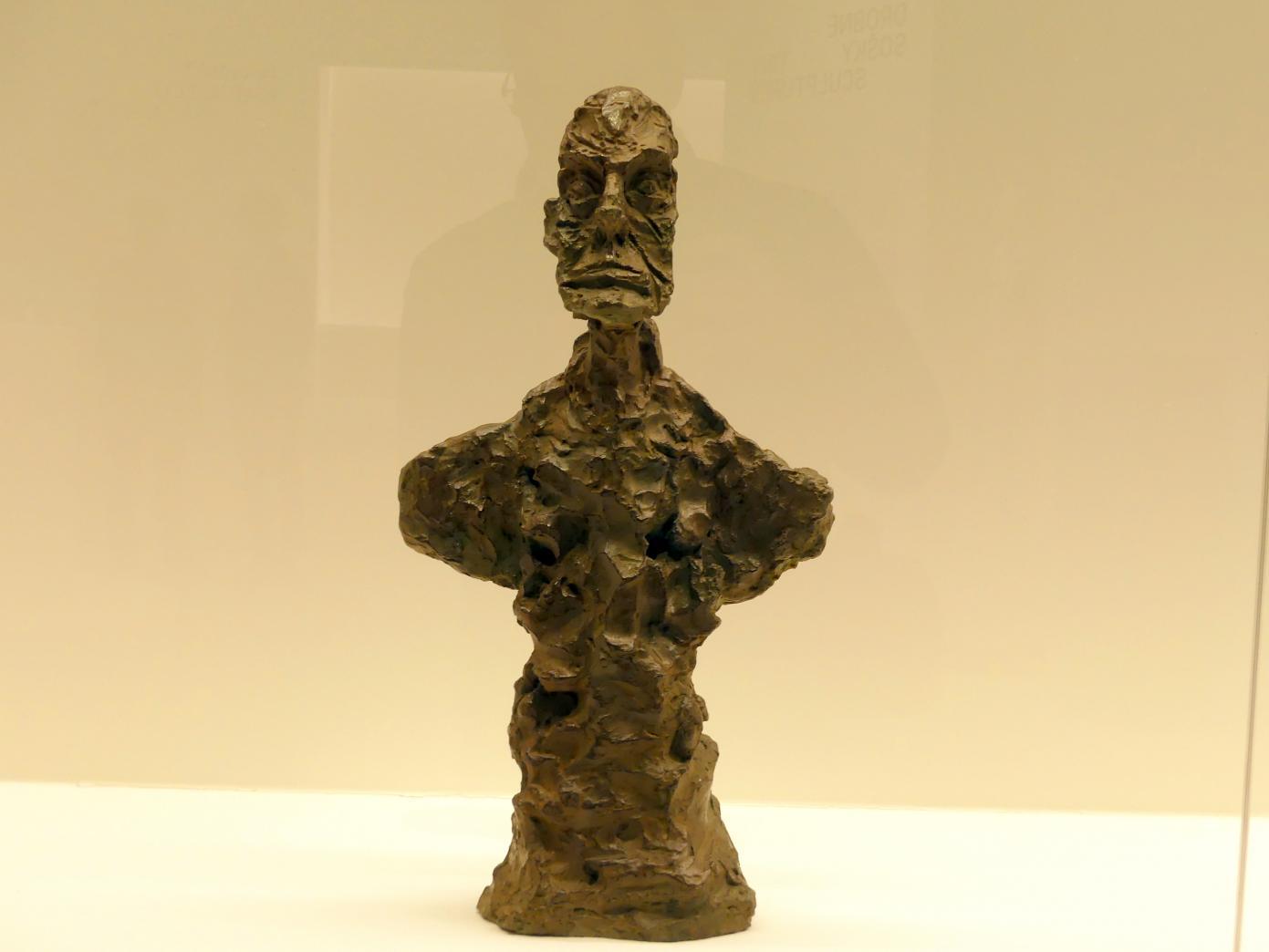 """Alberto Giacometti: Büste eines Mannes (""""New York II""""), 1965"""