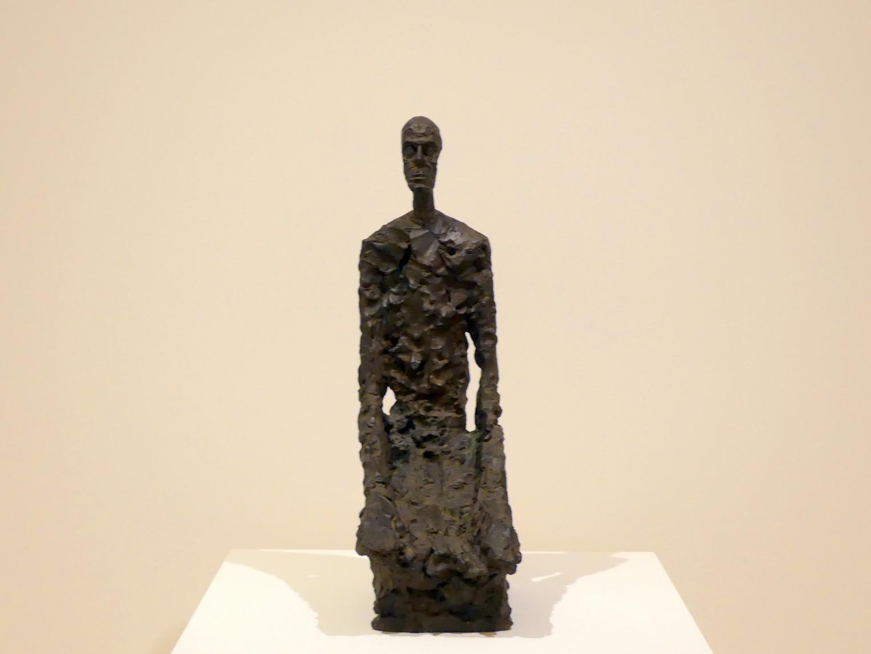 Alberto Giacometti: Halbporträt eines Mannes, 1965