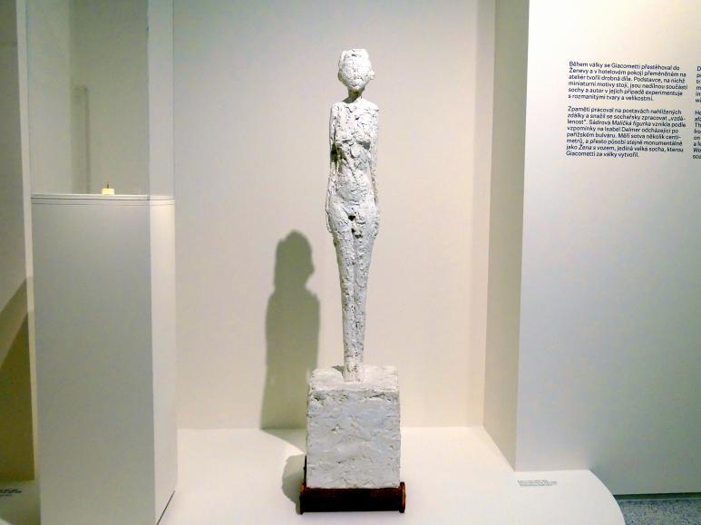 Alberto Giacometti: Frau mit Wagen, 1943 - 1945