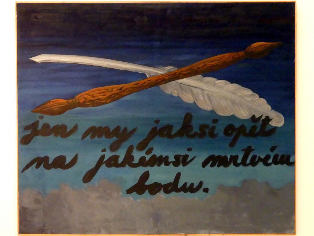 Tomáš Císařovský: Mit Pinsel und Stift, 1988