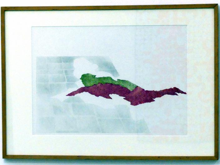 Adriena Šimotová: Diptychon Der Sturz, 1980