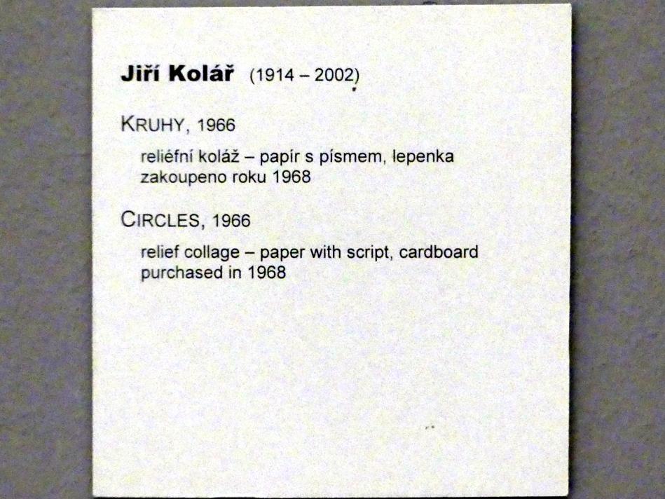Jiří Kolář: Kreise, 1966, Bild 2/2