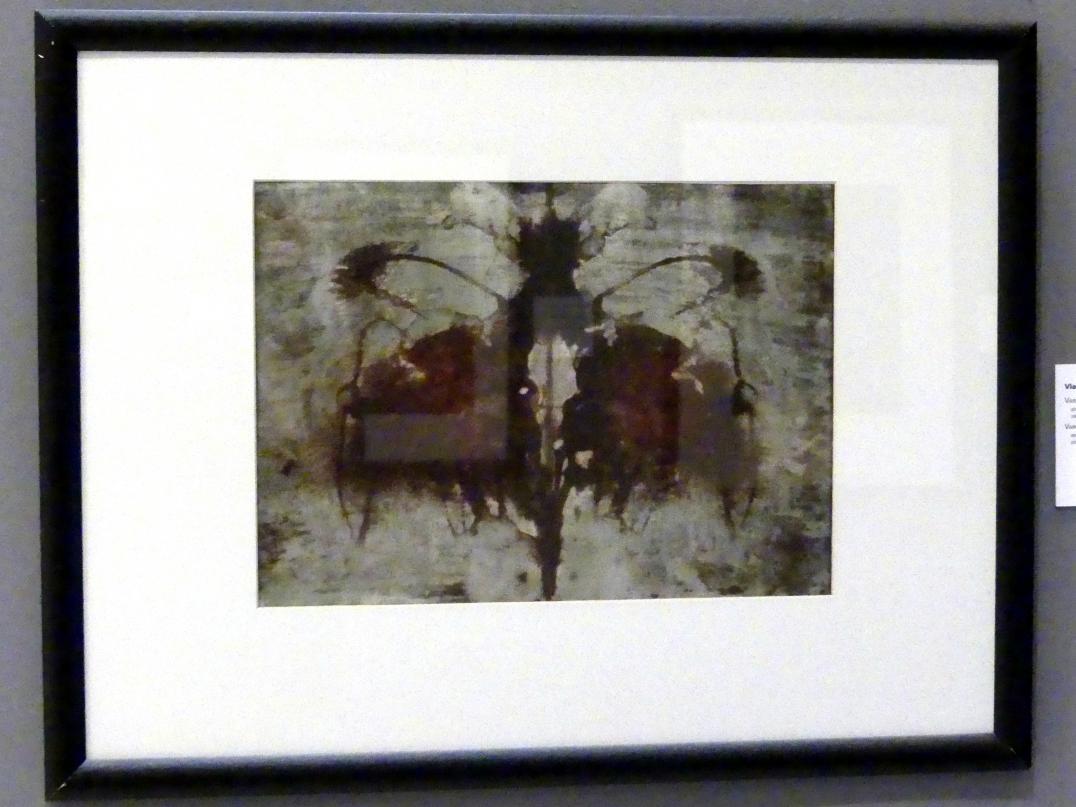 Vladimír Boudník: Variation zum Rorschach-Test, 1967