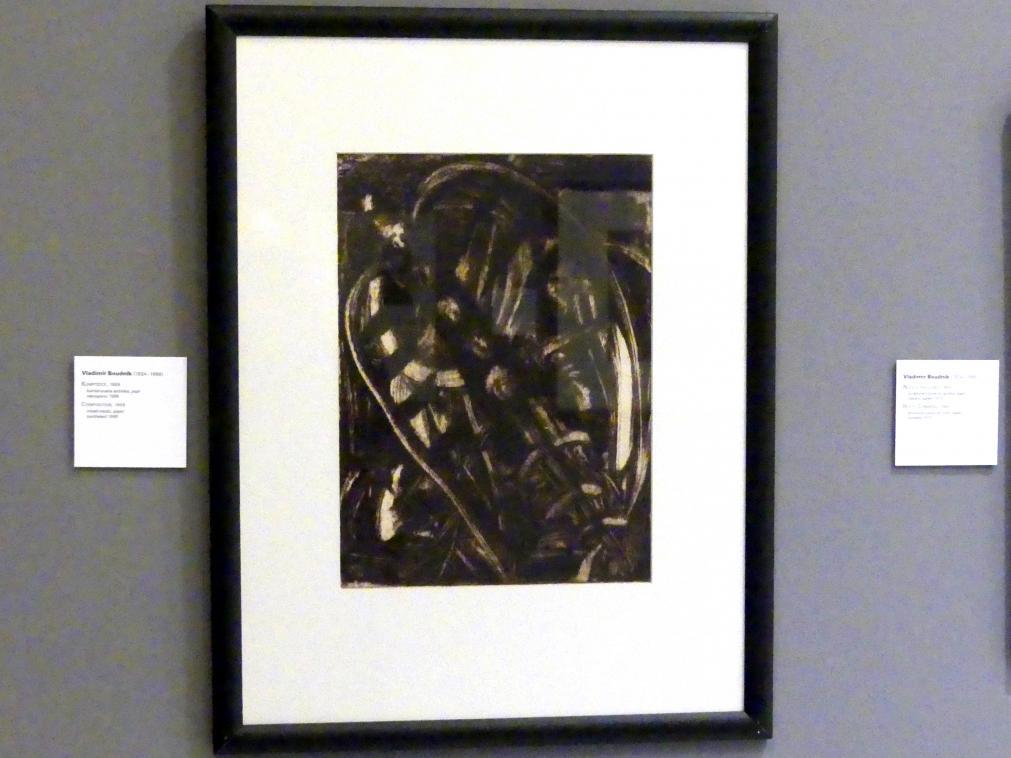 Vladimír Boudník: Komposition, 1959