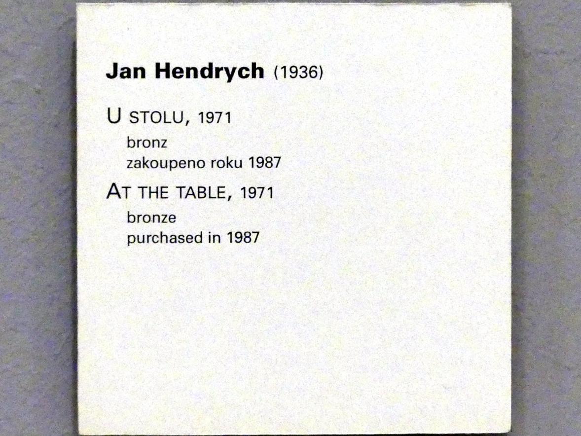 Jan Hendrych: Am Tisch, 1971, Bild 5/5