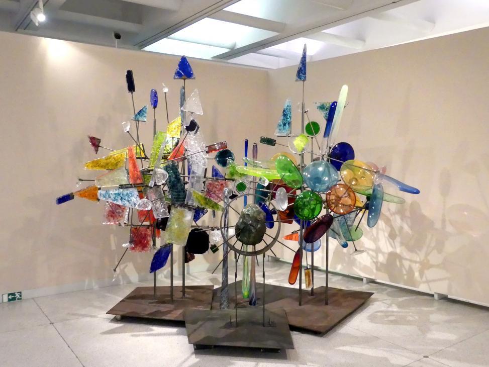 René Roubíček: Dreidimensionale Komposition für den tschechoslowakischen Pavillon auf der Weltausstellung EXPO 1958, 1958
