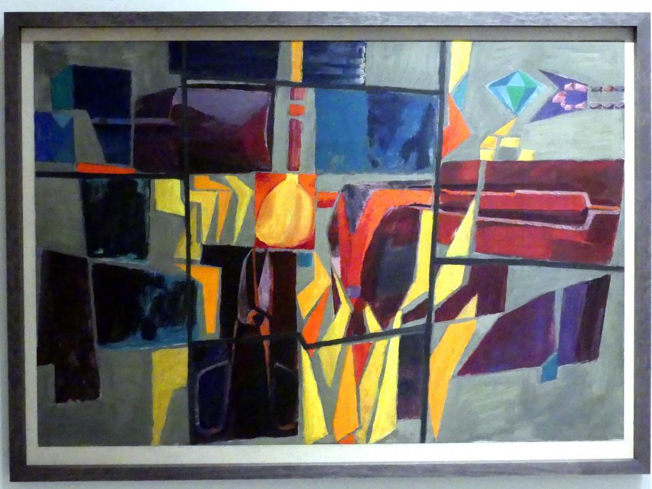 Stanislav Libenský: Feuer und Glas I, 1959