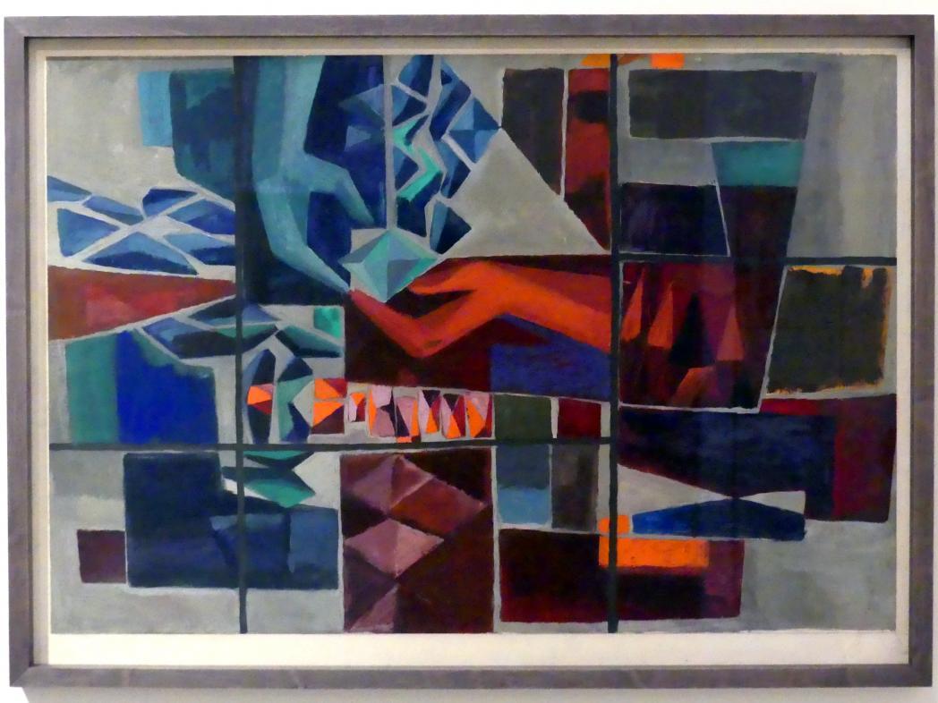 Stanislav Libenský: Feuer und Glas II, 1959
