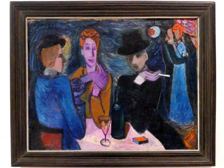 Karel Černý: Blaue Bar, 1941