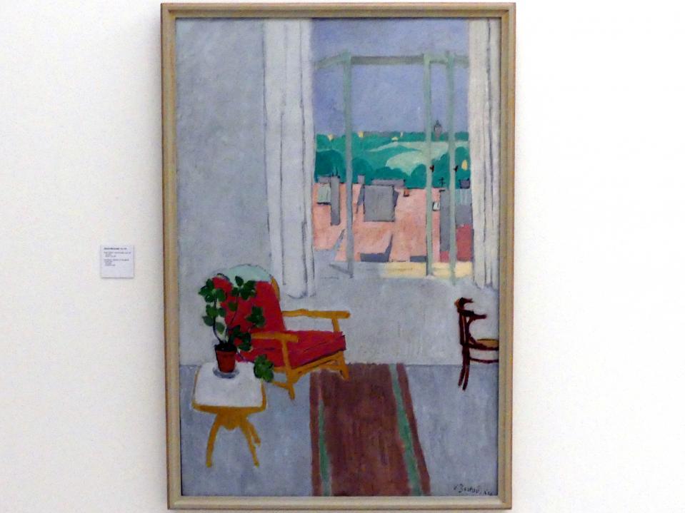 Václav Bartovský: Altes Atelier - Blick aus dem Fenster, 1947