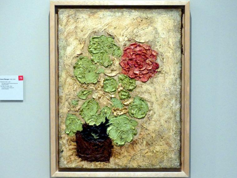 Karel Šlenger: Rote Blume, 1941