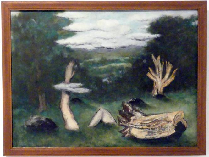 Josef Šíma: Deukalionische Flut, 1943