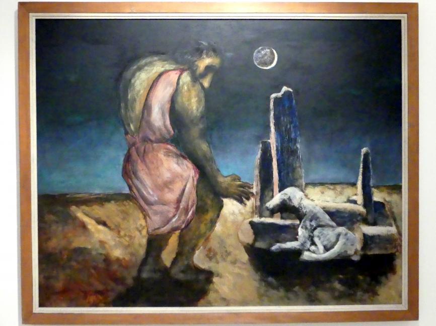Josef Šíma: Odysseus' Heimkehr (Pilger), 1943
