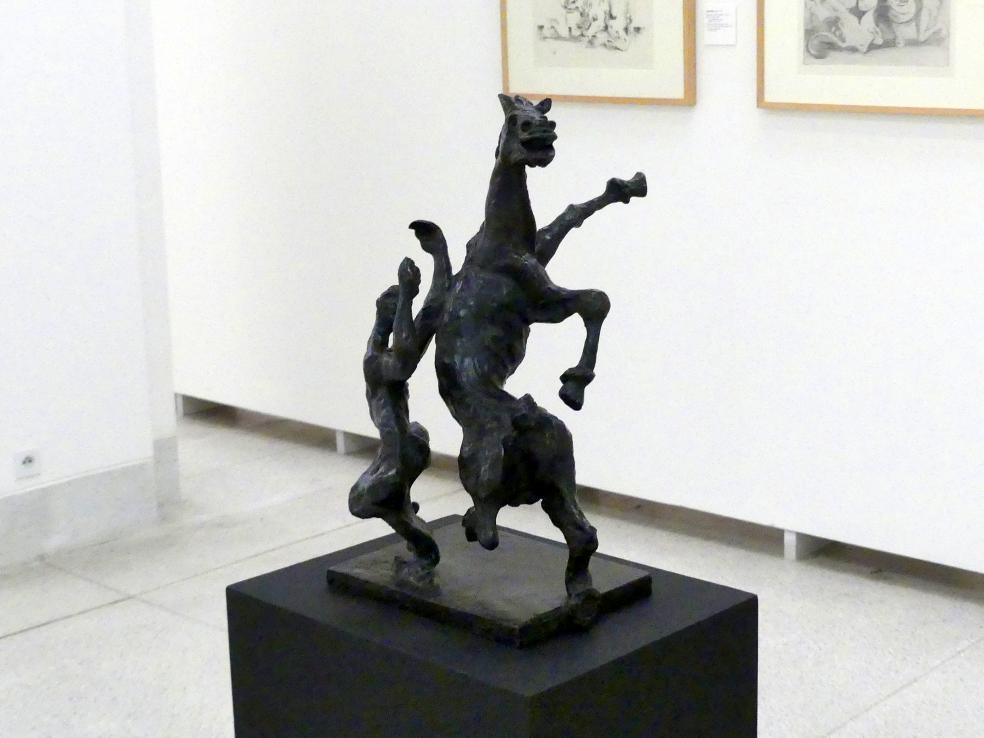 Emil Filla: Herkules kämpft gegen das Pferd des Diomedes, 1937