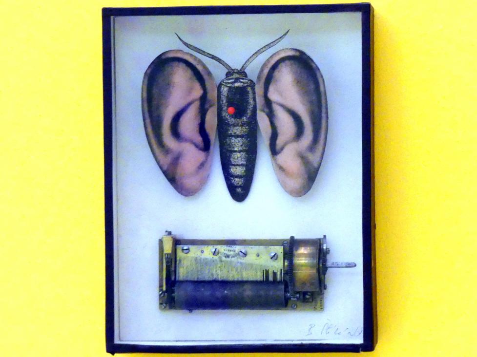 Bohumil Štěpán: Schmetterling aus Ohren und Spieluhr, 1968 - 1969