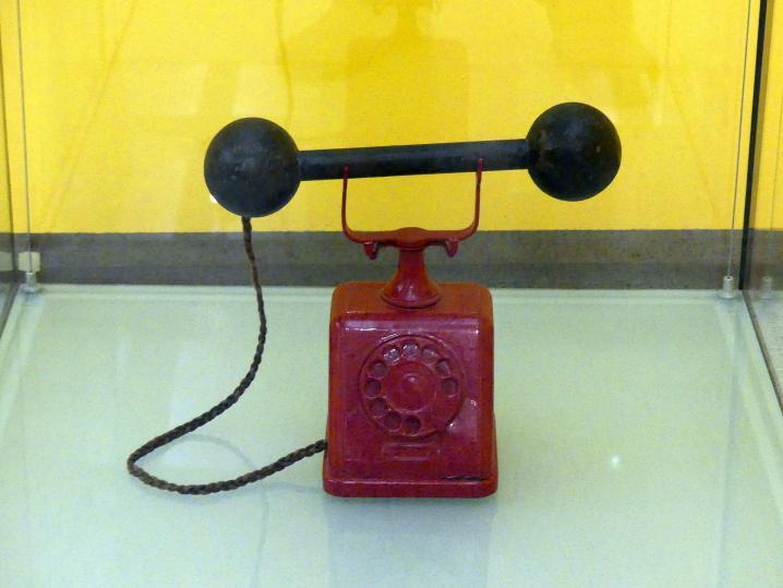 Bohumil Štěpán: Rotes Notruftelefon, 1962