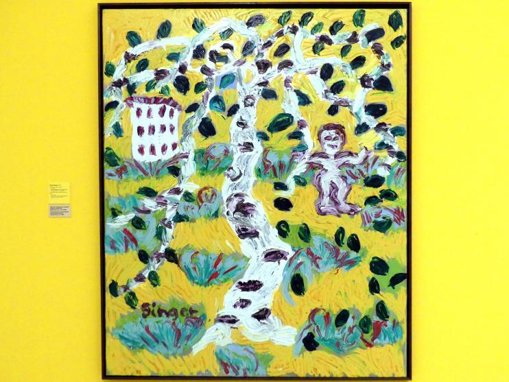Karel Pauzer: Kind, Birke, Plattenbau, 2004