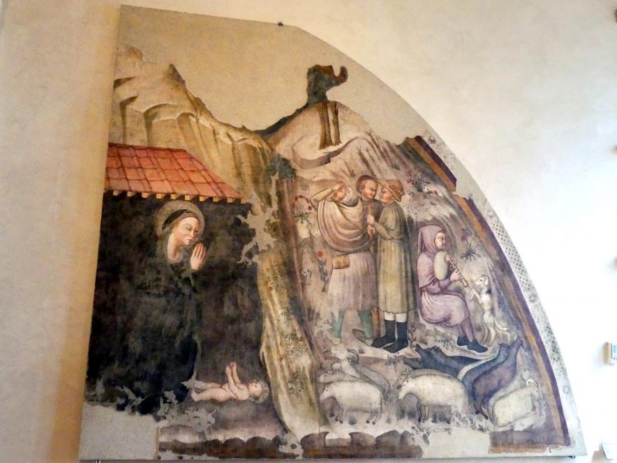 Anbetung der Hirten, Um 1370 - 1390