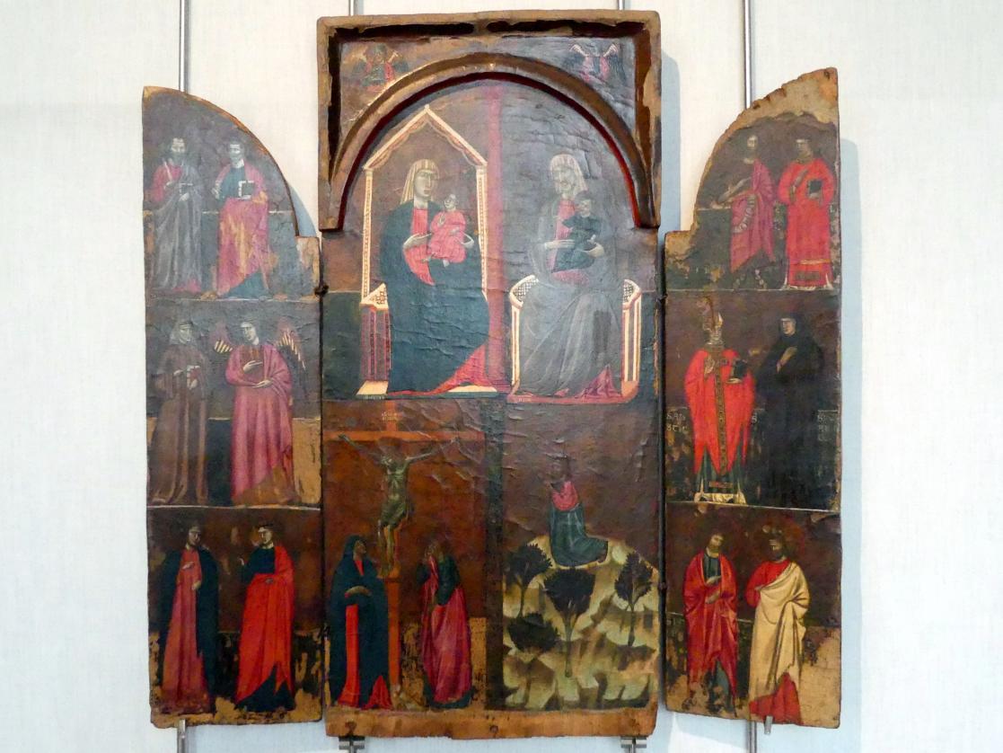 Tabernakel mit Türen, um 1290 - 1300