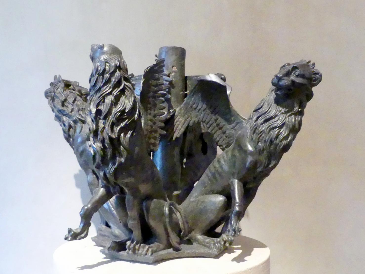 Greifen und Löwen, Letztes Viertel 13. Jhd.