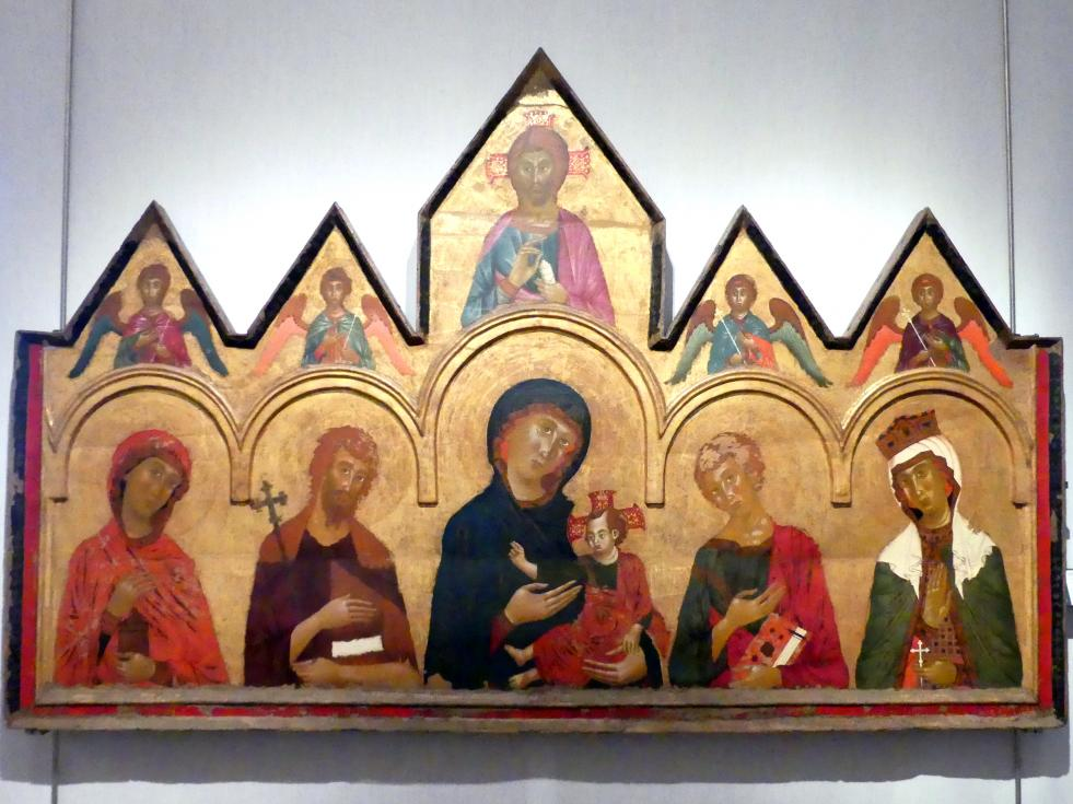 Vigoroso da Siena: Altarretabel der Santa Giuliana, 1291