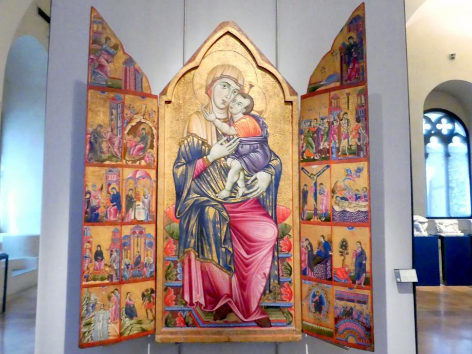 Triptychon von Perugia, um 1270 - 1275