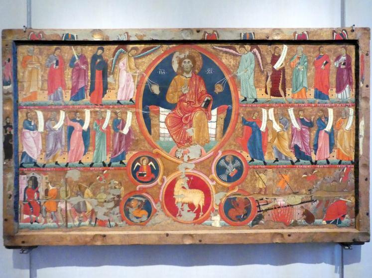 Maestro di San Felice di Giano: Altarretabel, um 1250