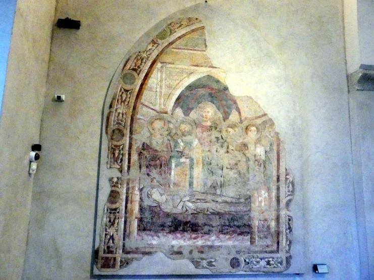 Maestro di San Francesco al Prato: Entschlafen der Gottesmutter, um 1340 - 1350