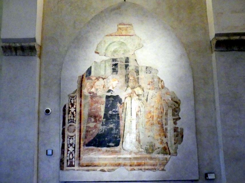 Maestro di San Francesco al Prato: Vermählung Mariens, um 1340 - 1350