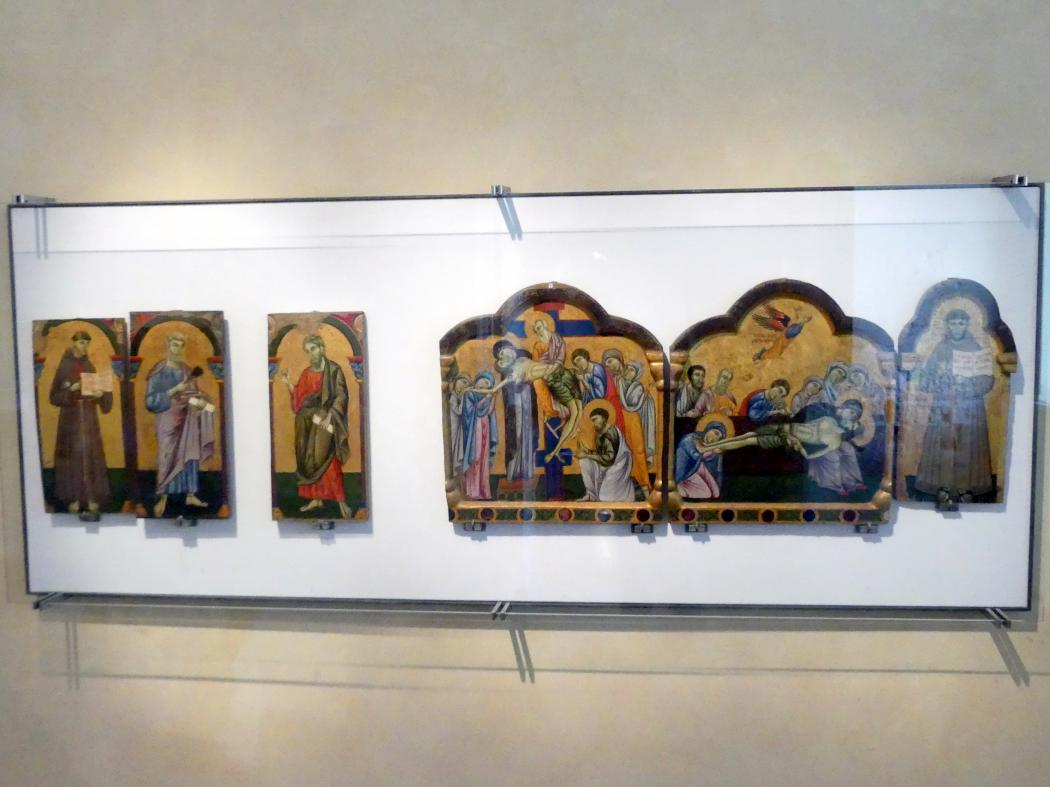 Maestro di San Francesco: Antependium mit zwei Seiten, um 1272