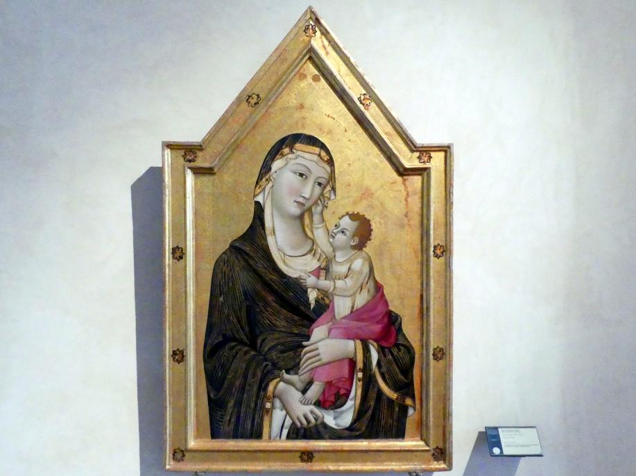 Meo di Siena (Meo da Guido da Siena): Maria mit Kind, um 1325 - 1330