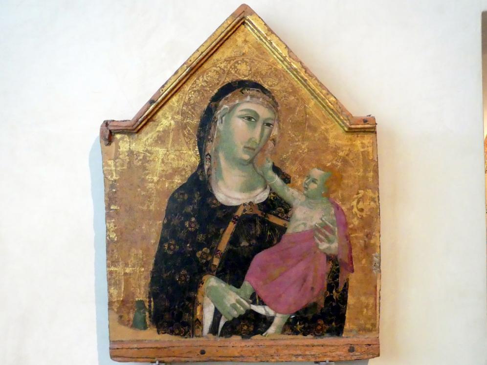 Meo di Siena (Meo da Guido da Siena): Maria mit Kind, um 1308 - 1310