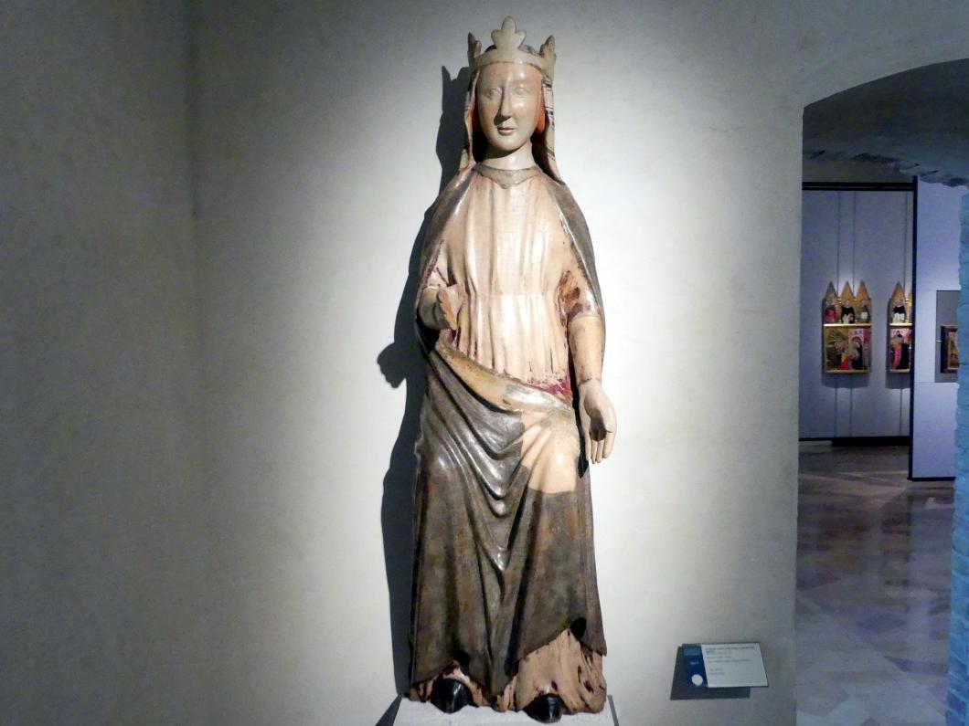 Madonna als Sedes Sapientiae, um 1330 - 1350