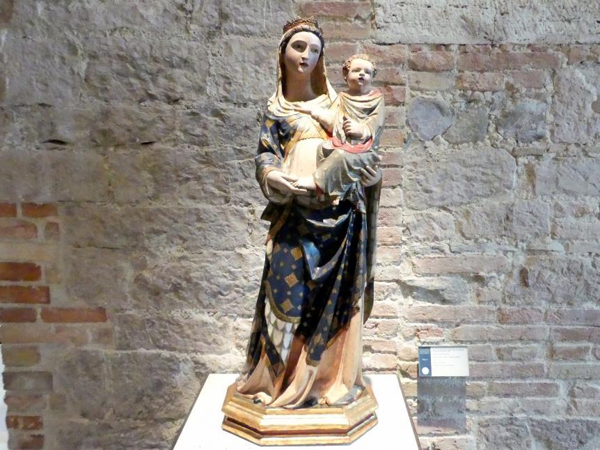 Madonna von Sant'Agostino, 1. Viertel 14. Jhd.
