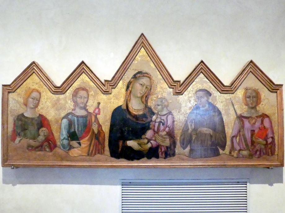 Maestro Dei Dossali Di Montelabate: Altarretabel, um 1325 - 1335