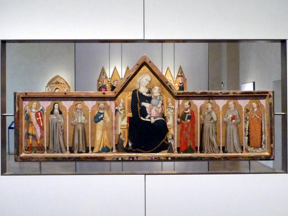 Meister von Paciano (Paciano-Meister): Antependium, um 1317 - 1320