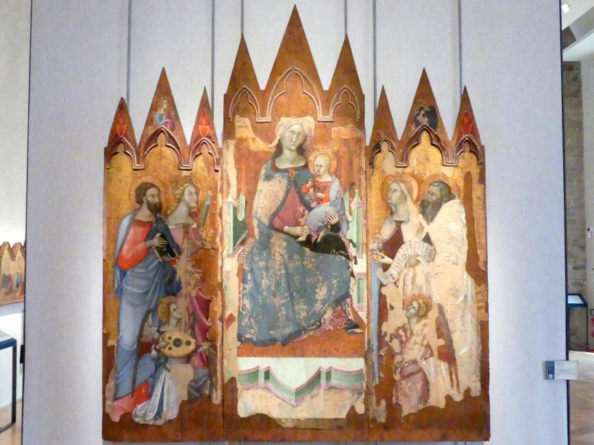 Bartolo di Fredi: Triptychon, um 1364 - 1367