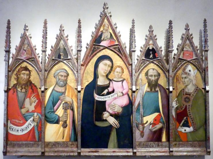 Luca di Tommè: Retabel, um 1370 - 1375