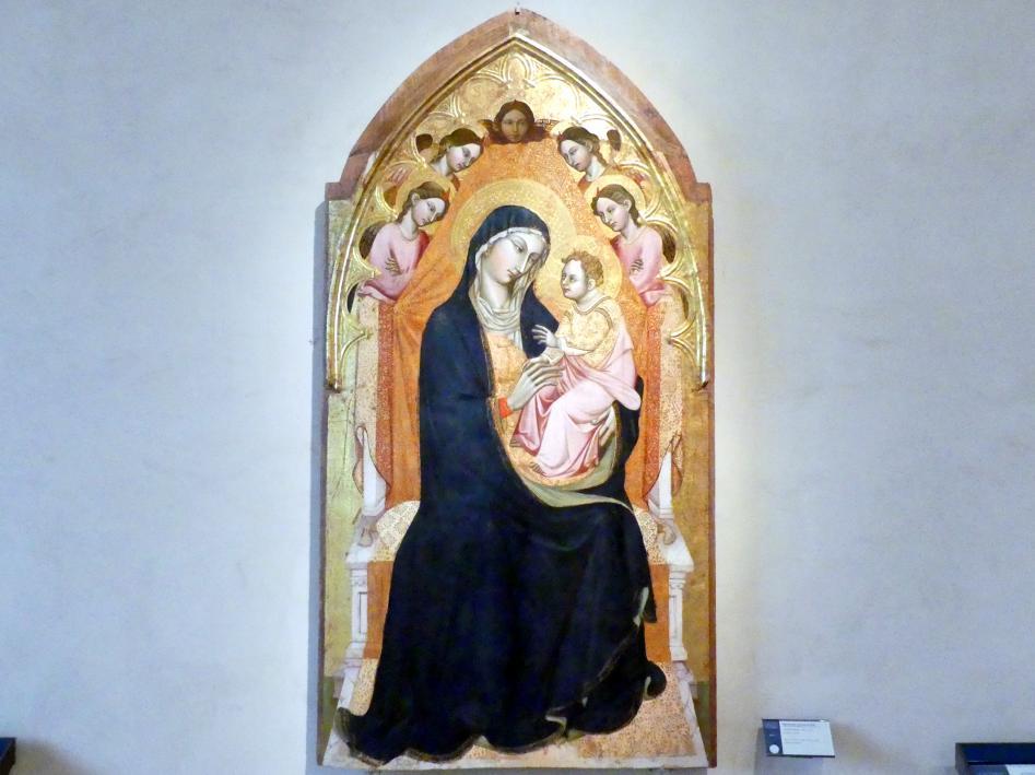 Meister der Dormitio von Terni (Maestro della Dormitio di Terni): Mittelteil eines Polyptychons, um 1390 - 1410