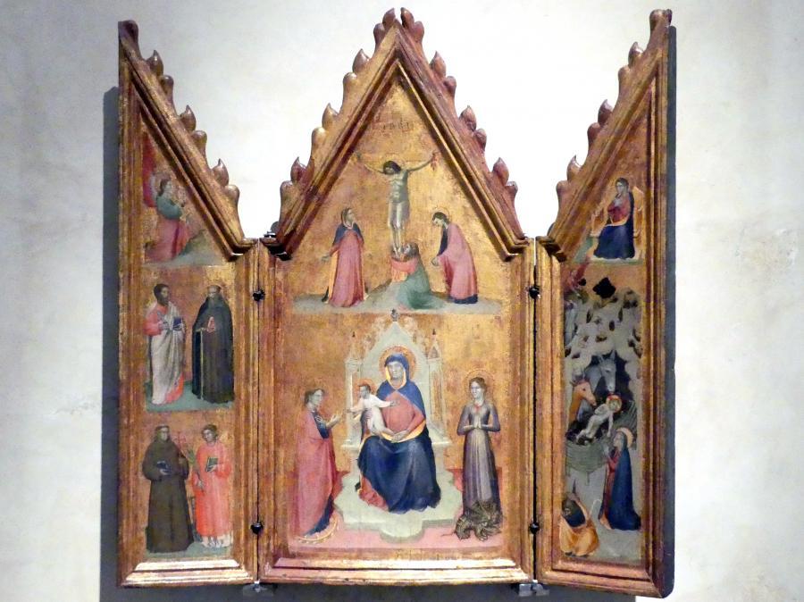 Reisetriptychon, um 1370 - 1390