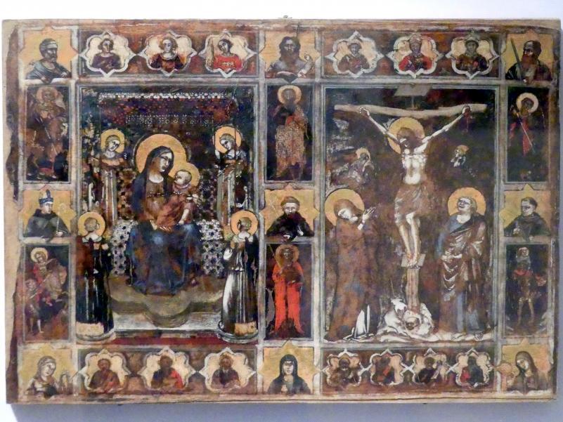 Puccio Capanna: Votivtafel, um 1335 - 1345