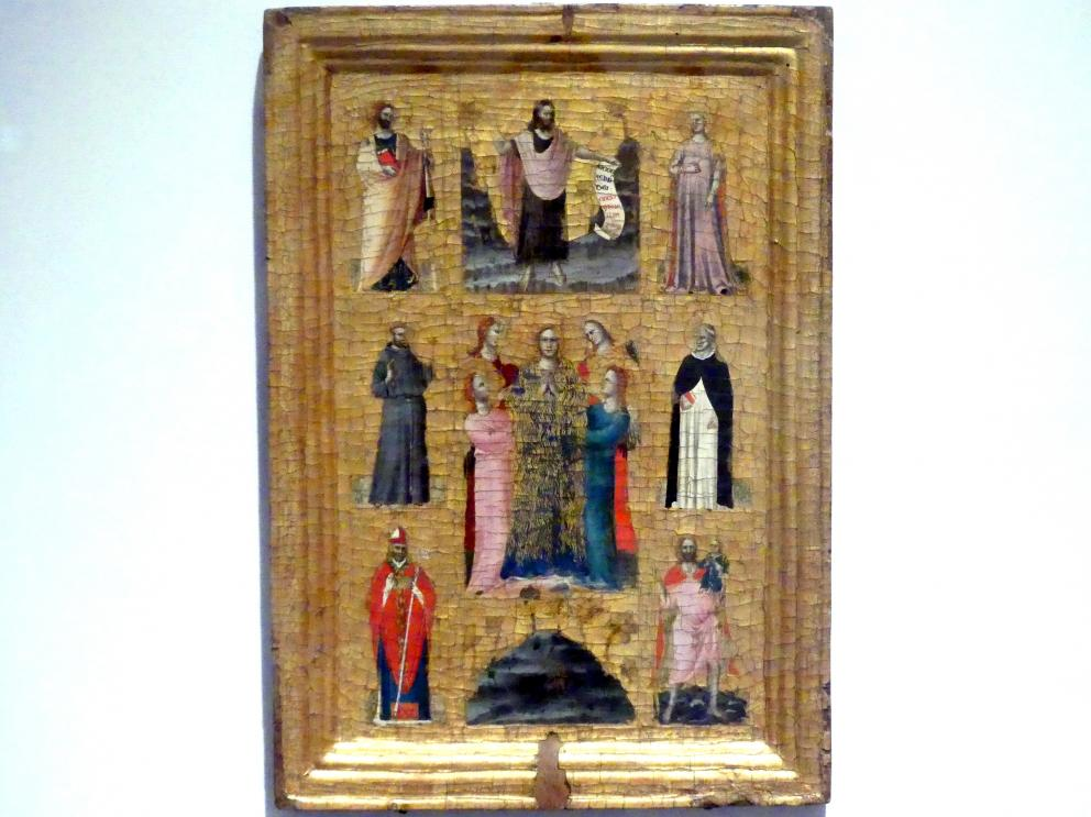 Maestro di Verucchio: Teil eines Diptychons (?), um 1330 - 1340