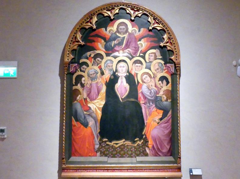 Taddeo di Bartolo: Pfingsten, 1403