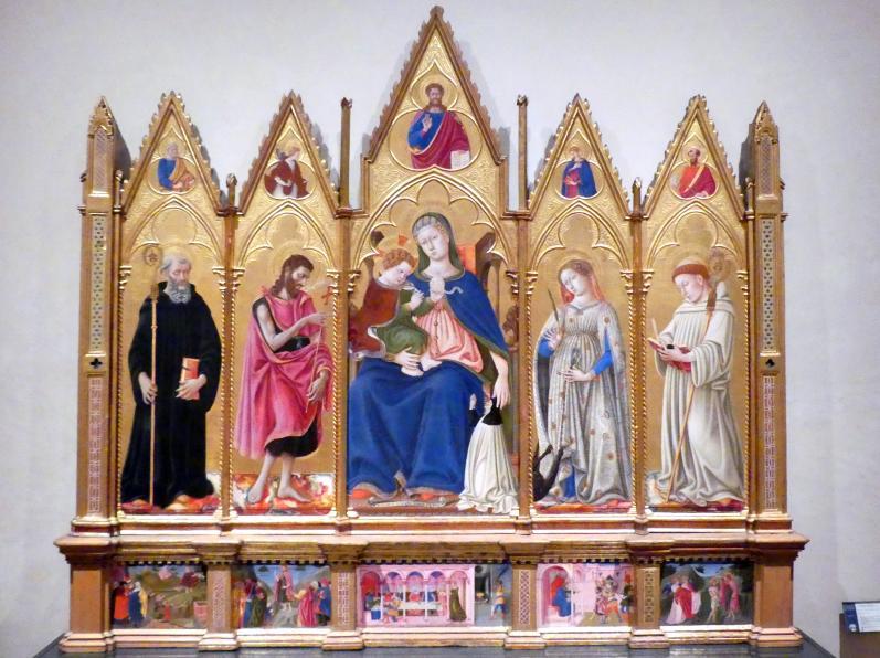 Domenico di Bartolo: Altarretabel, 1438
