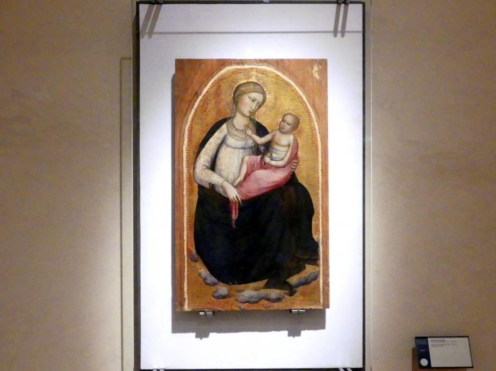 Mariotto di Nardo: Maria mit Kind, um 1405 - 1415
