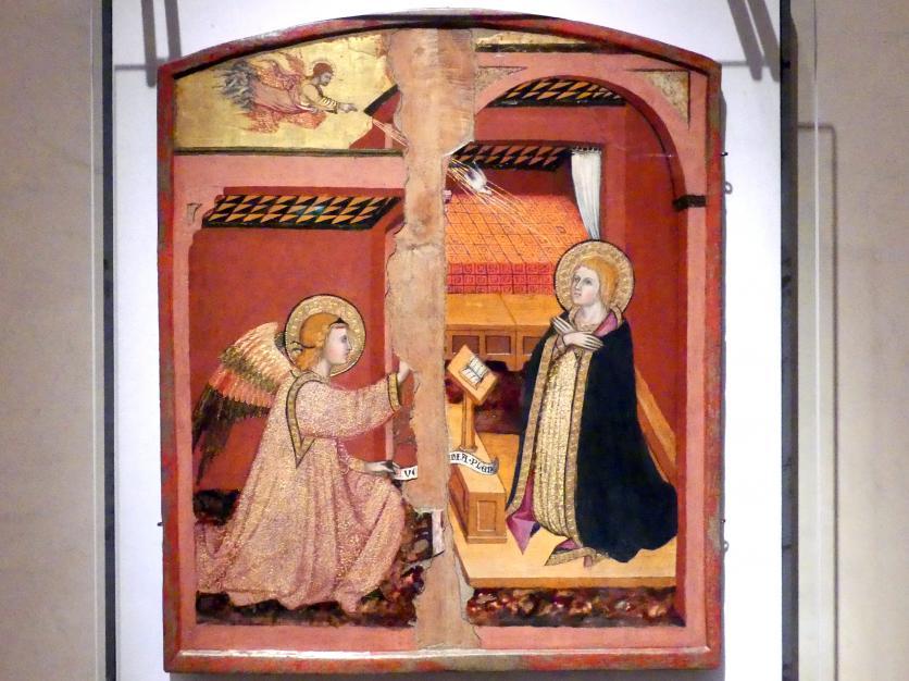 Taddeo di Bartolo: Mariä Verkündigung, um 1405 - 1415