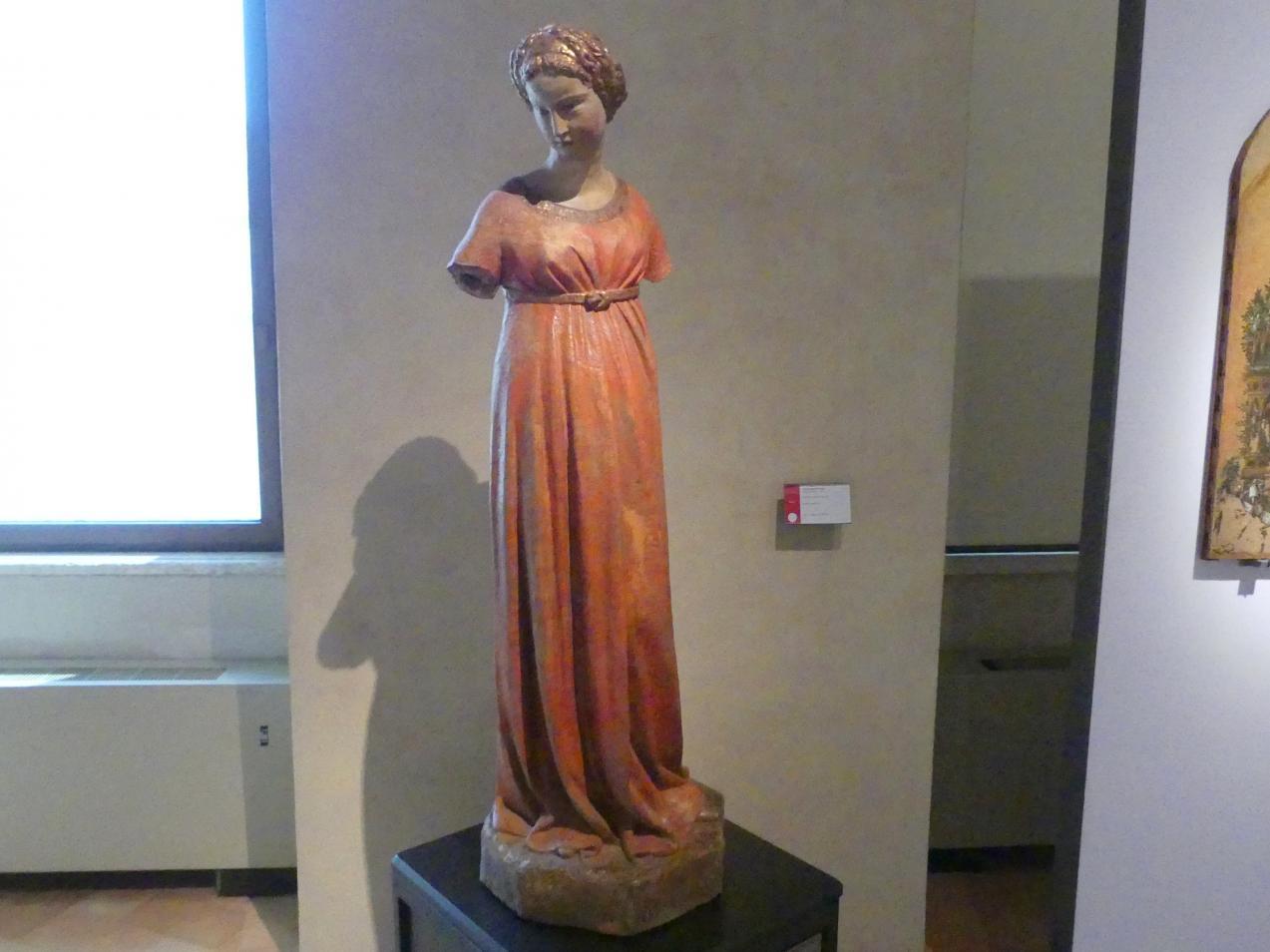 Jacopo della Quercia: Maria aus einer Verkündigung, um 1400 - 1420