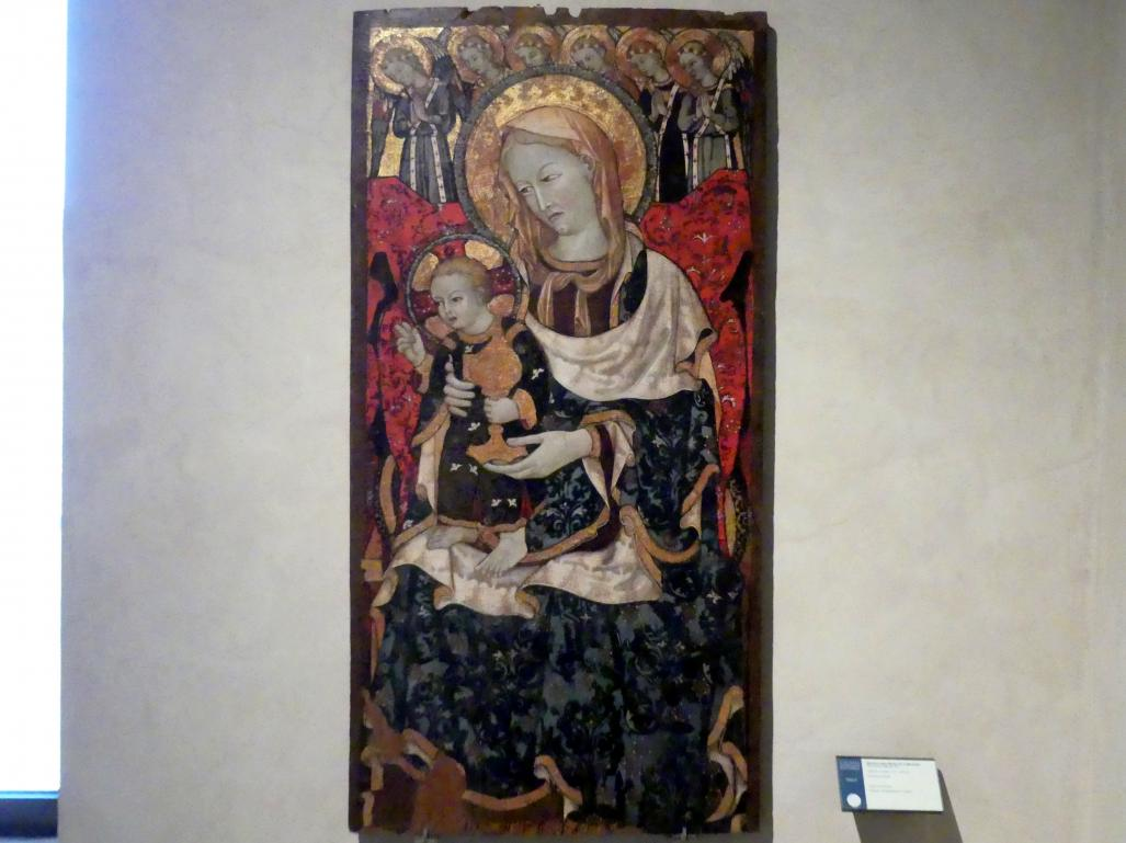 Maestro della Madonna di Montone: Teil eines Diptychons, um 1410 - 1430