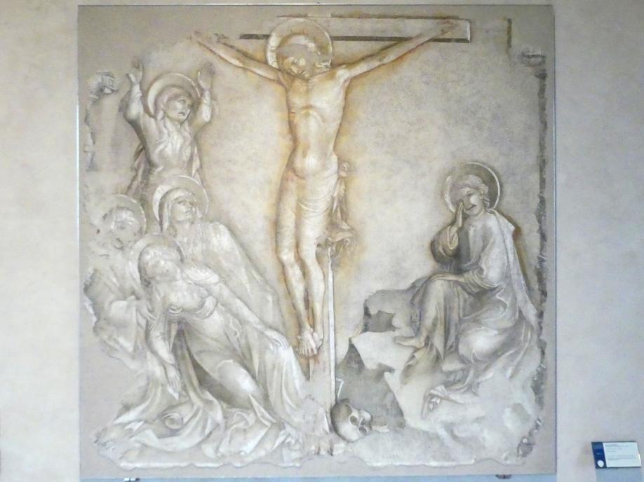 Jacopo Salimbeni: Kreuzigung, um 1416 - 1420